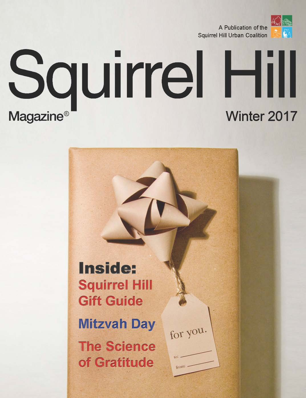 Squirrel Hill Magazine Holiday 2017