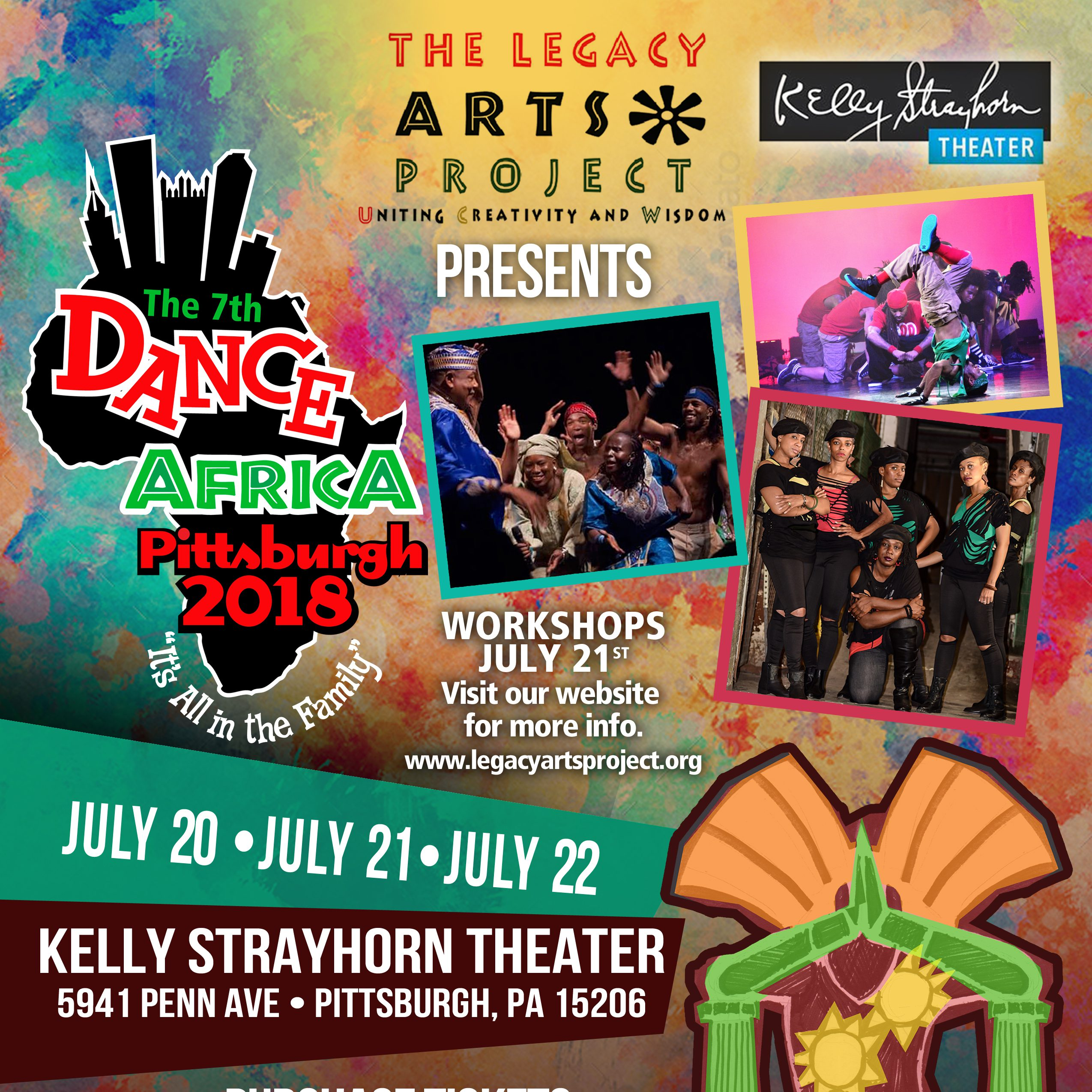Legacy Arts Project :: Dance Africa 2018 - Squirrel Hill