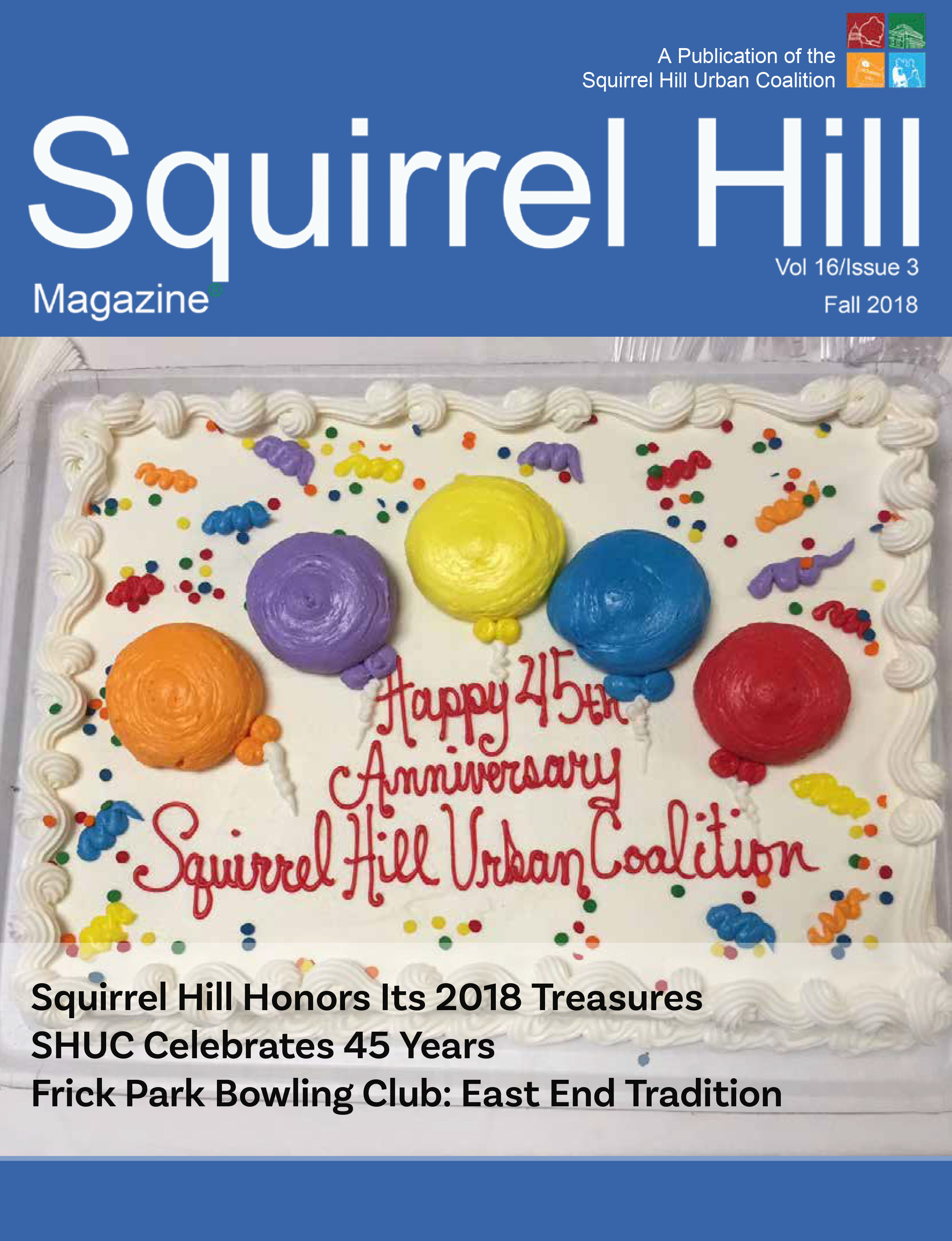 Squirrel Hill Magazine Fall 2018